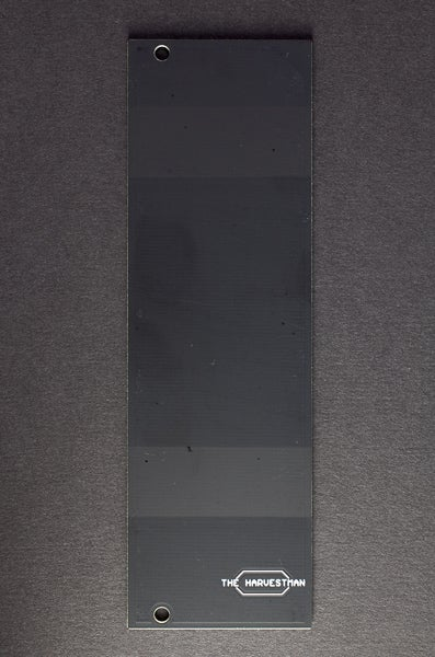 Image of 8 HP blank faceplate