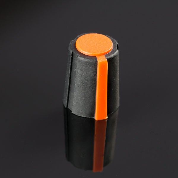 Image of Small orange knob