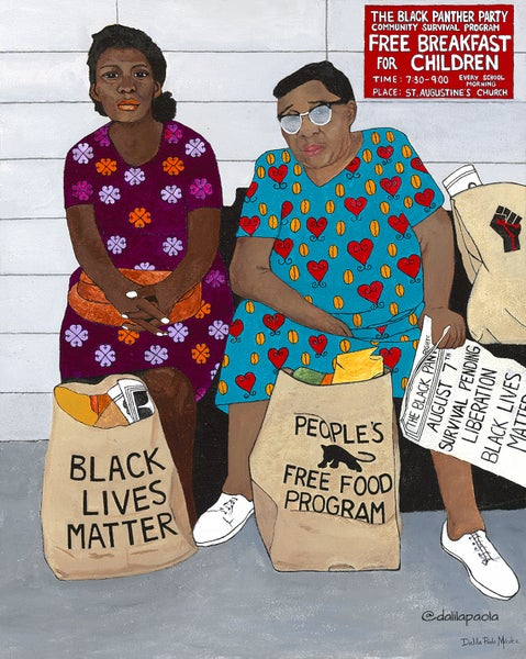 Image of Food Justice 9x11 Giclee