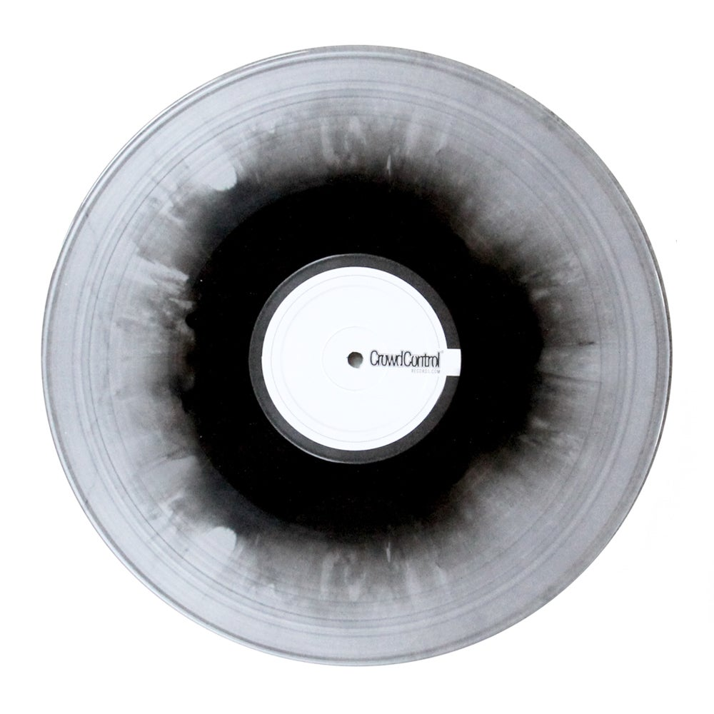 "Image of NICK NACK - SOUNDCRAFTSMAN 2 (clear/black inlay 12"" Skratch Record)"