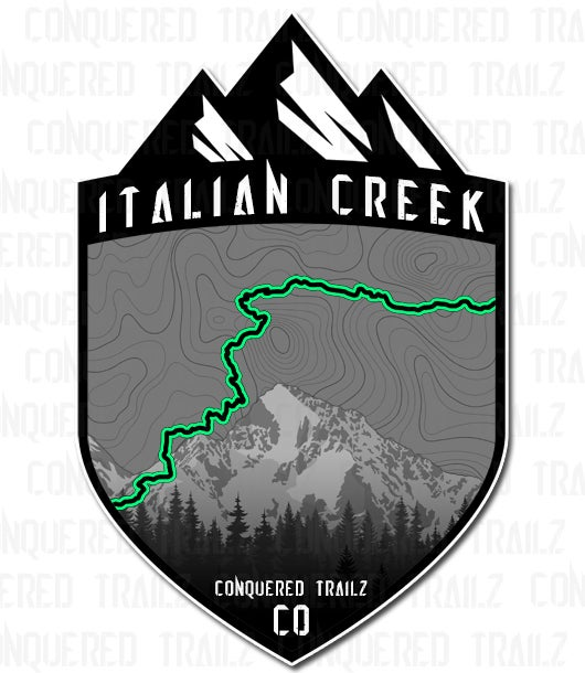 "Image of ""Italian Creek"" Trail Badge"