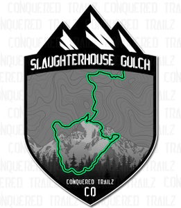 "Image of ""Slaughterhouse Gulch"" Trail Badge"