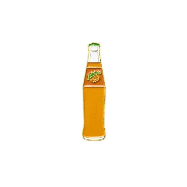Image of Mirinda Drink - Vintage Glass Bottle Pin