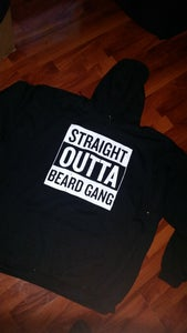Image of STRAIGHT OUTTA BEARDGANG HOODIE