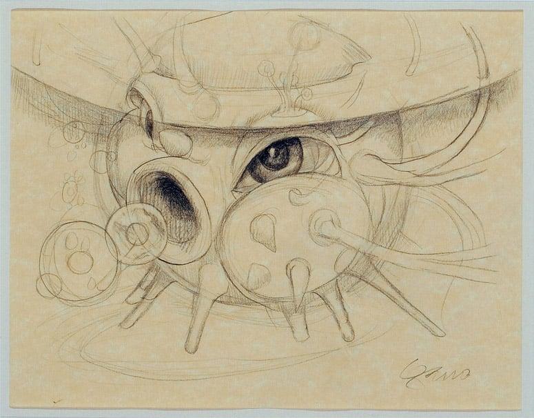 Image of Mark Garro original drawing