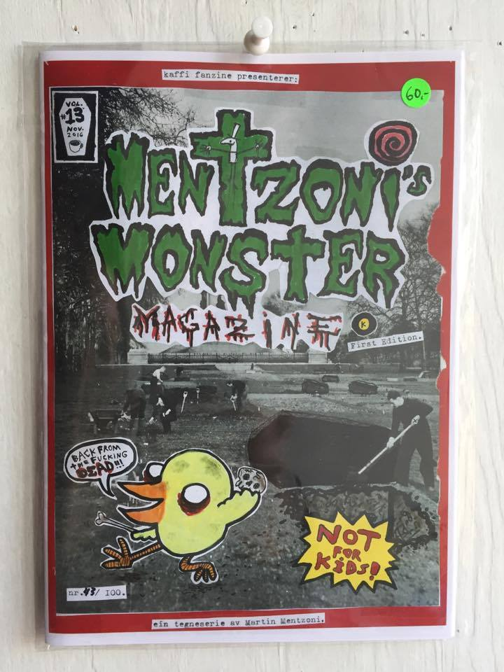 Image of Mentzoni´s Monster MagaZine Vol.#13 (2016)