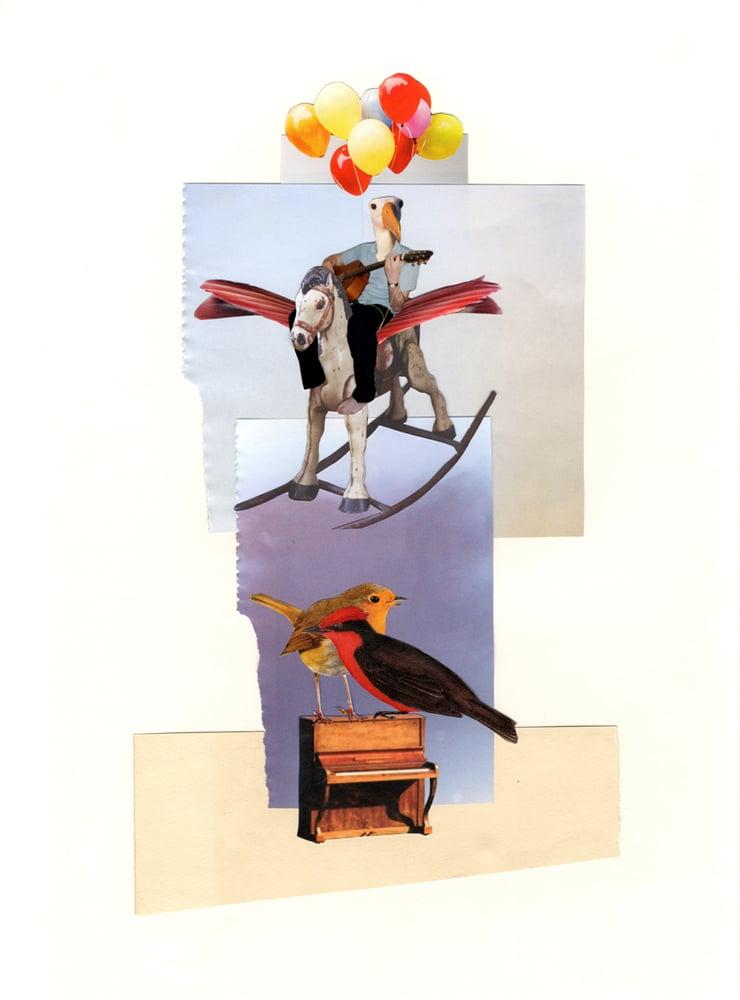 Image of Nostalgia Prints - Mathew Entertaining The Birds