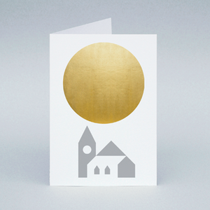 Image of Winter Sun Church card