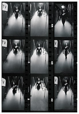 Image of Vampira Film Strip Poster 13x19 inches