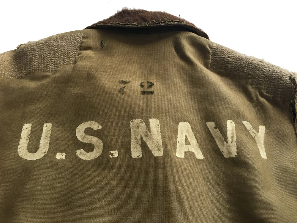 Image of WWII USN DECK JACKET