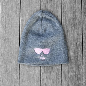 Image of Womens Gray Winter Beanie