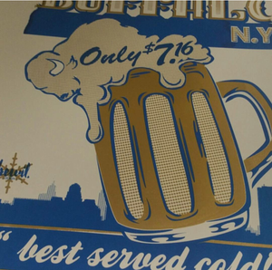 "Image of BUFFALO NY ""best served cold!"" POSTER"