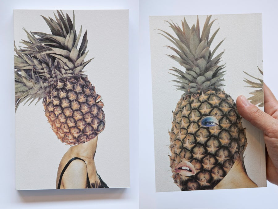 Image of Sarah Jessica Pineapple Notebook