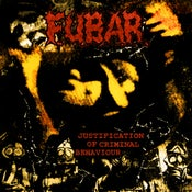 "Image of Fubar ""Justification of Criminal Behaviour"" CD"