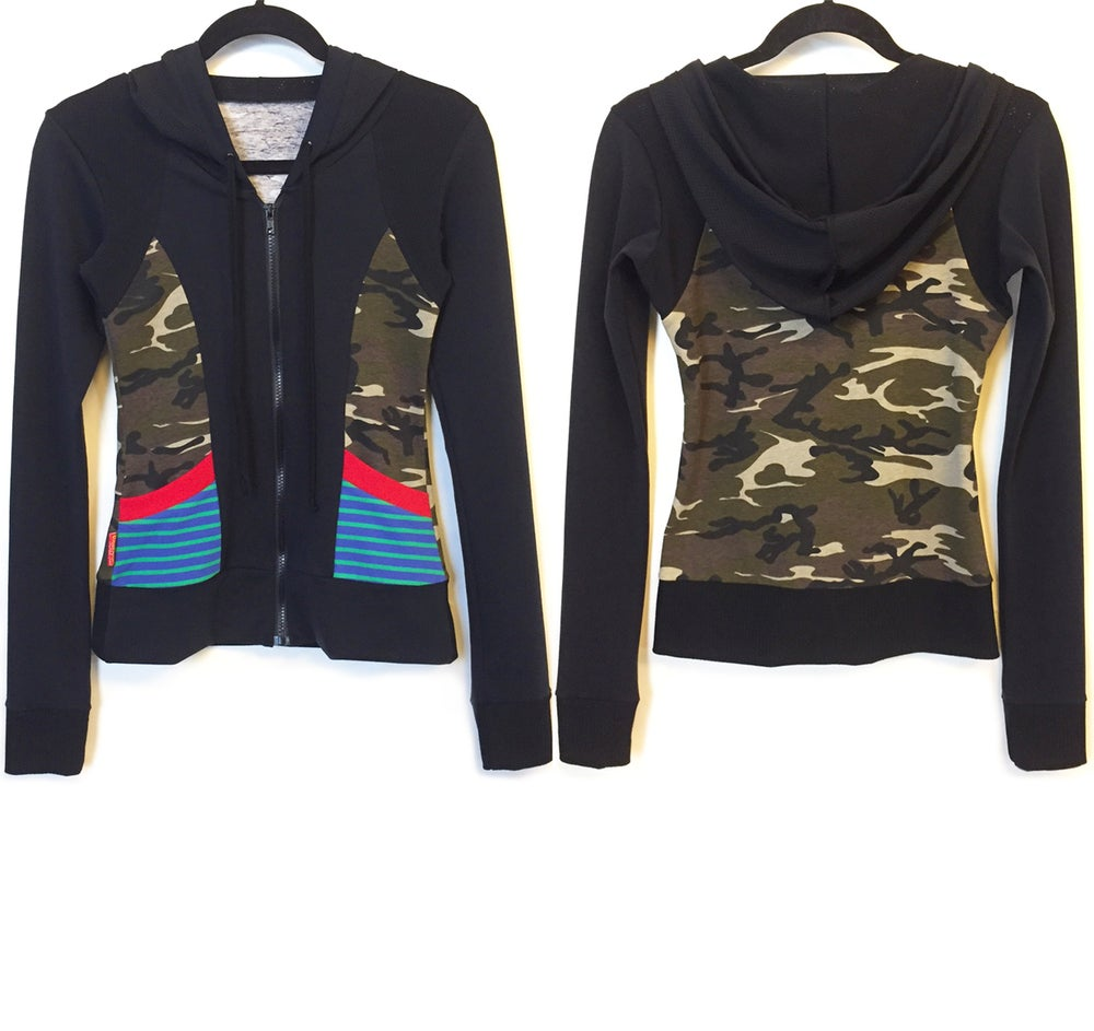 Image of Dance Camo Hoody Sports Jacket