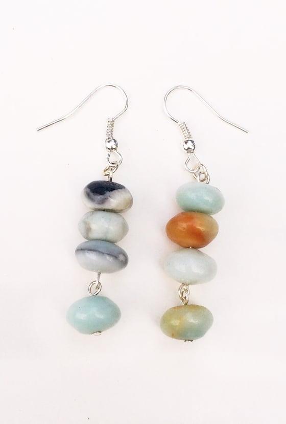 Image of Amazonite Stack Earrings