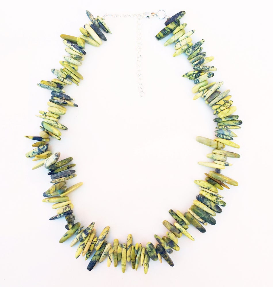 Image of Malachite Fang Necklace