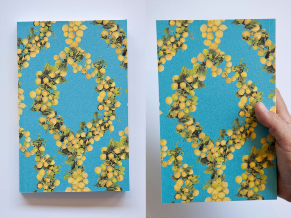 Image of Lemon Wallpaper Notebook