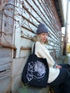 Ace of Knits limited black tote