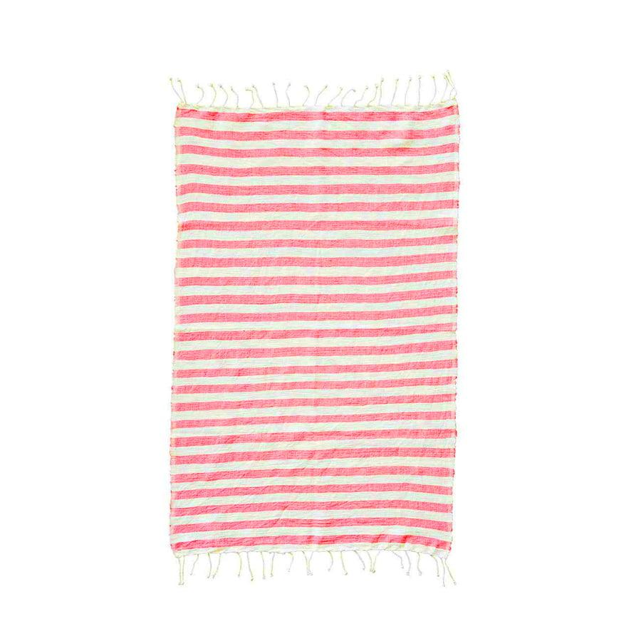 Image of Hand-spun Ethiopian Towel Pink