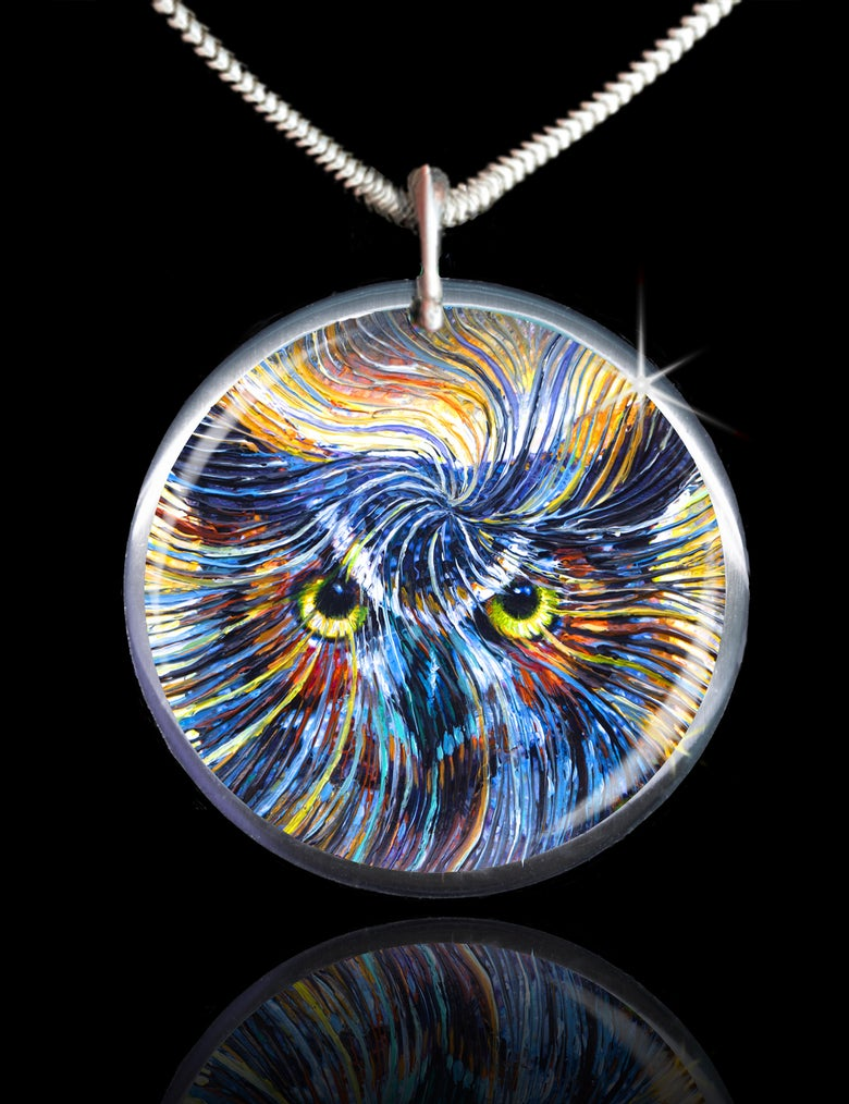 Image of Owl Spirit Energy Pendant