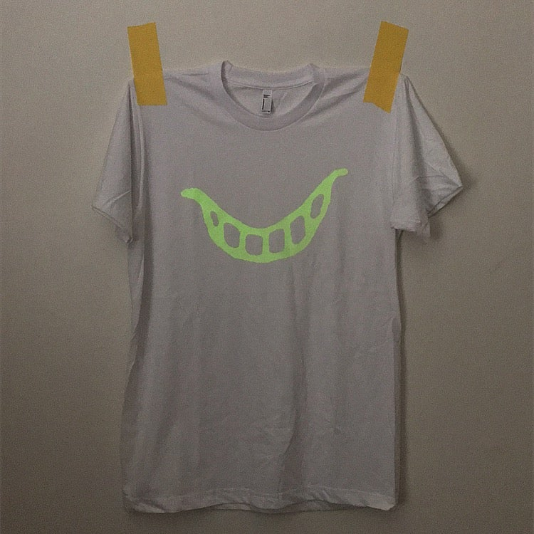 Image of glow in the dark cliff shirt △