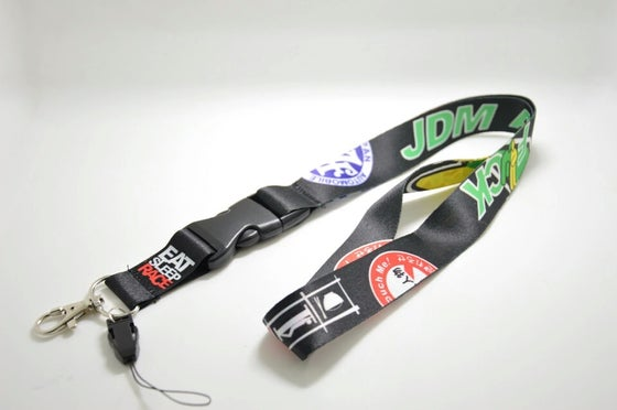 Image of JDM as F*ck lanyard