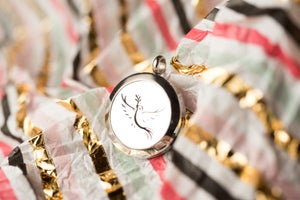 Image of Dove of Peace Essential Oil Diffuser Necklace