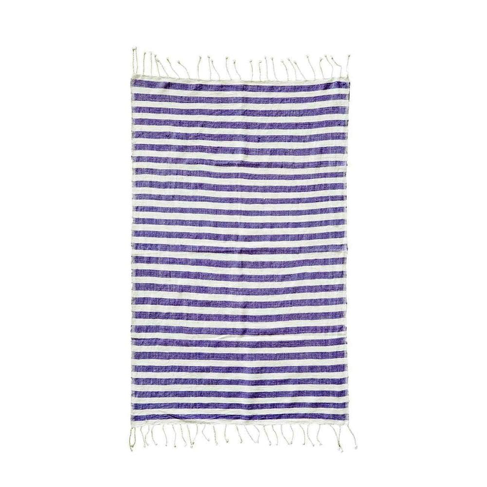 Image of Hand-spun Ethiopian Towel Iris