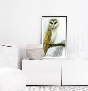 Image of Wise Owl PRINT
