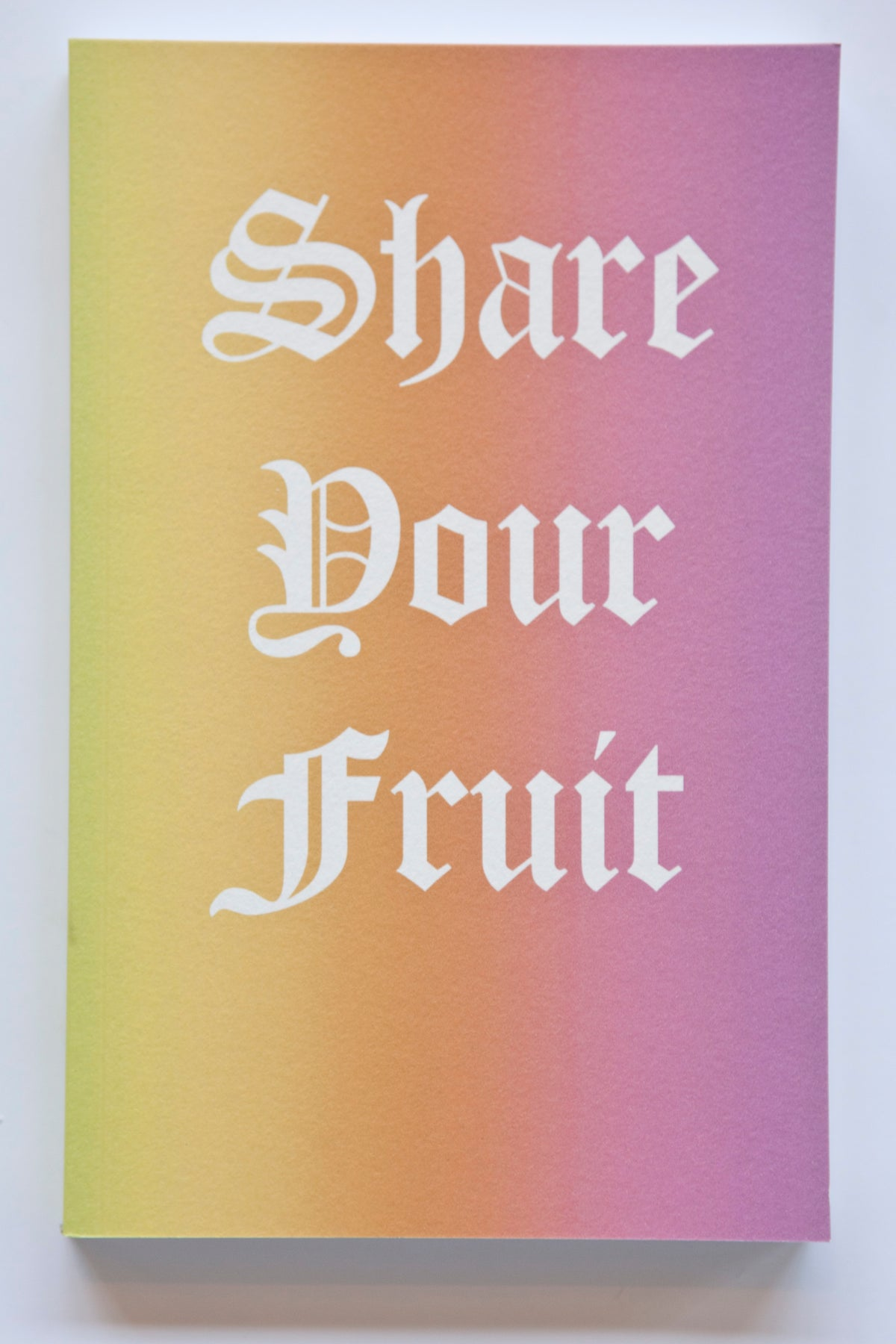 Image of Share Your Fruit Notebook