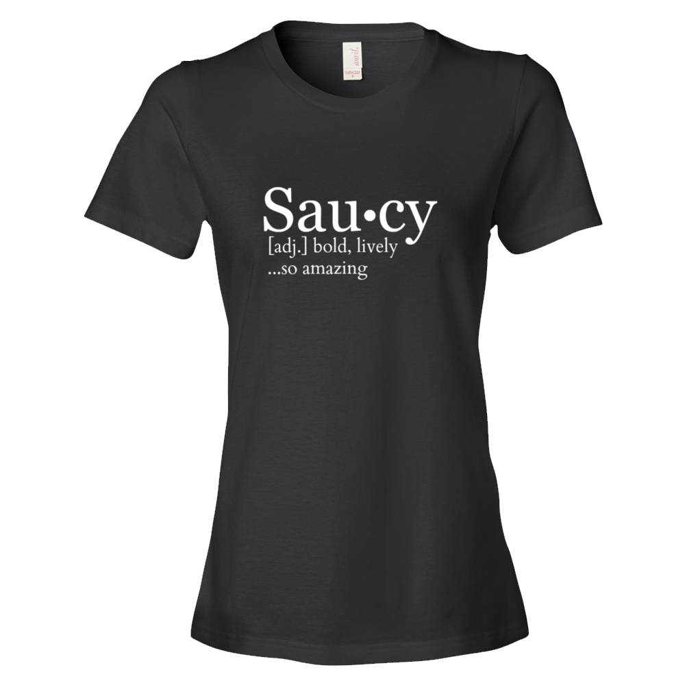 Image of Saucy [Definition] Tee - Black