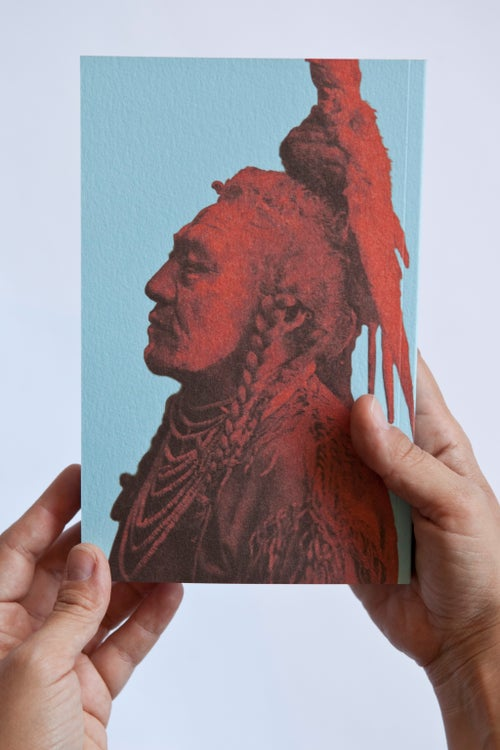 Image of Sioux Maiden Notebook