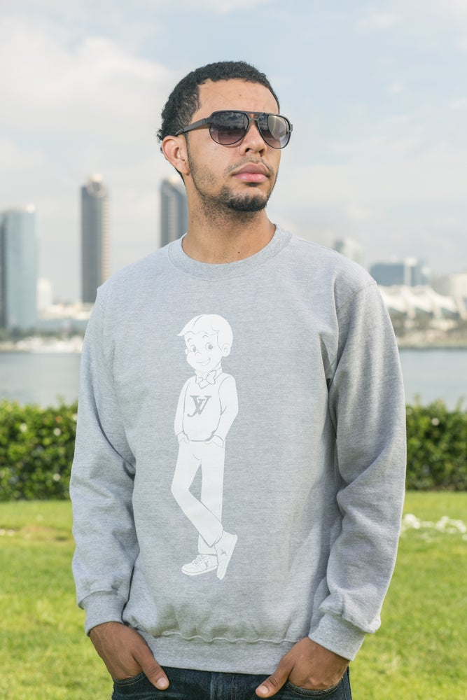 Image of Joint Venture Young Christianaire Gray Sweatshirt