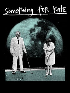Image of Adults 'Golf on the Moon' T-Shirt - Black