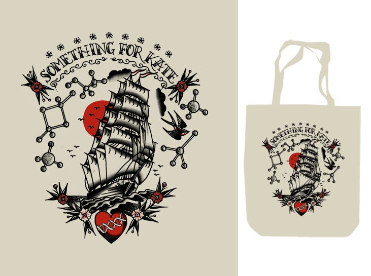 Image of SFK 'Tattoo' Tote Bag