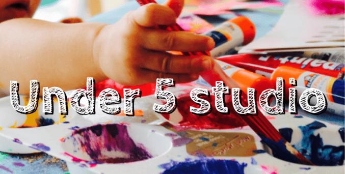 Image of UNDER 5's Art Studio - Full Term