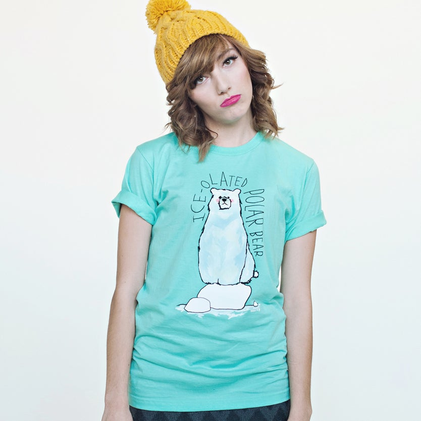 Image of Ice-olated Polar Bear Tee