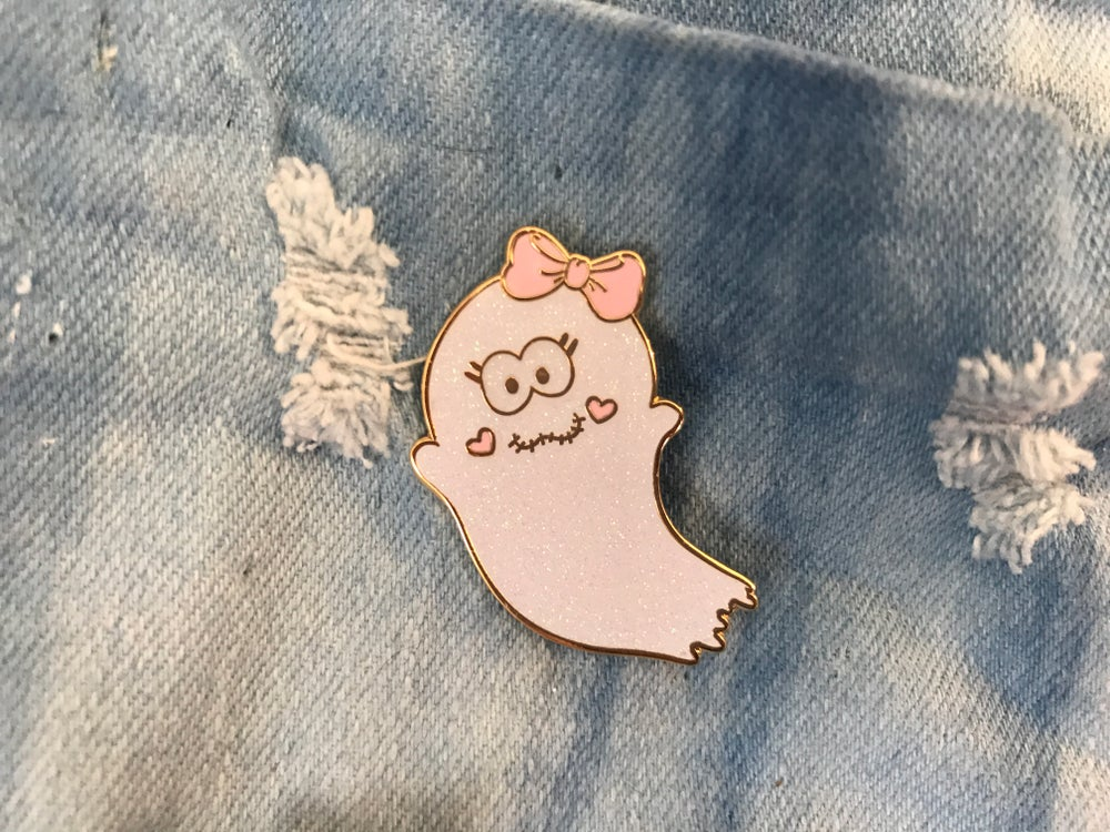 Image of Ghostie Enamel Pin