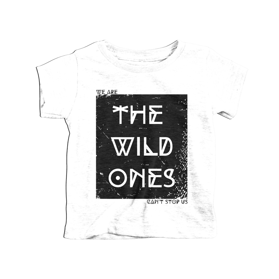 Image of Wild Ones Tee White / 2T
