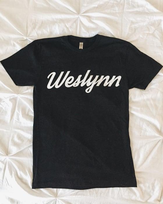 Image of Weslynn College Script Tee