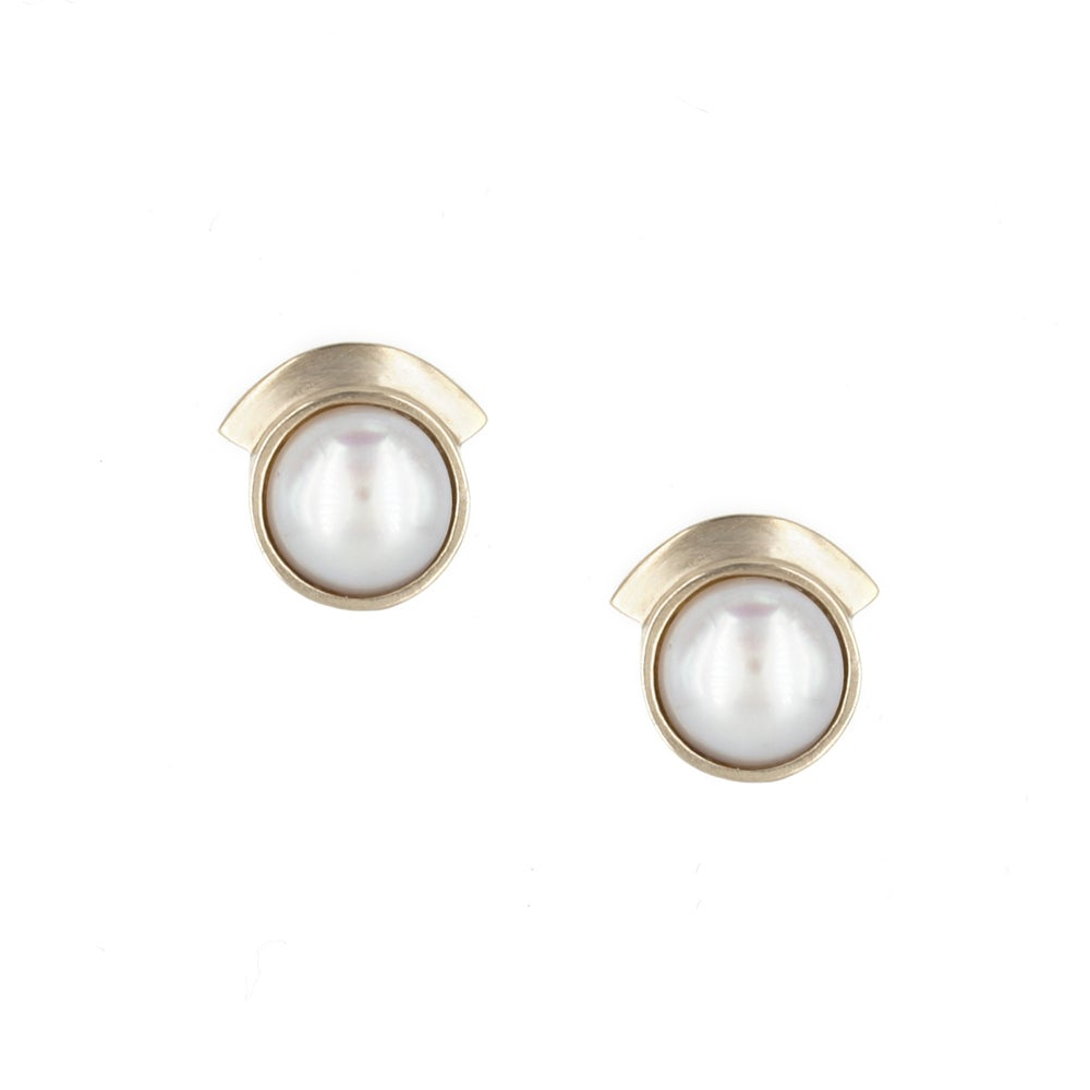 PEARL DREAM SEQUINS STUDS