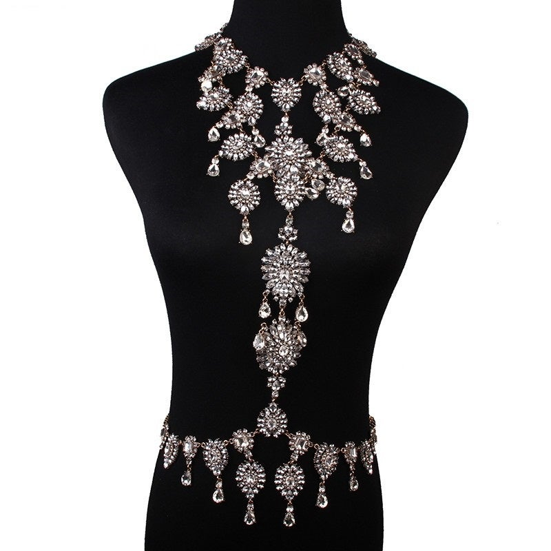 Image of Jasmine Body Statement Necklace