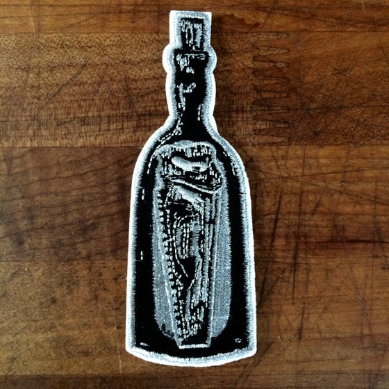 Image of Saw Bottle patch