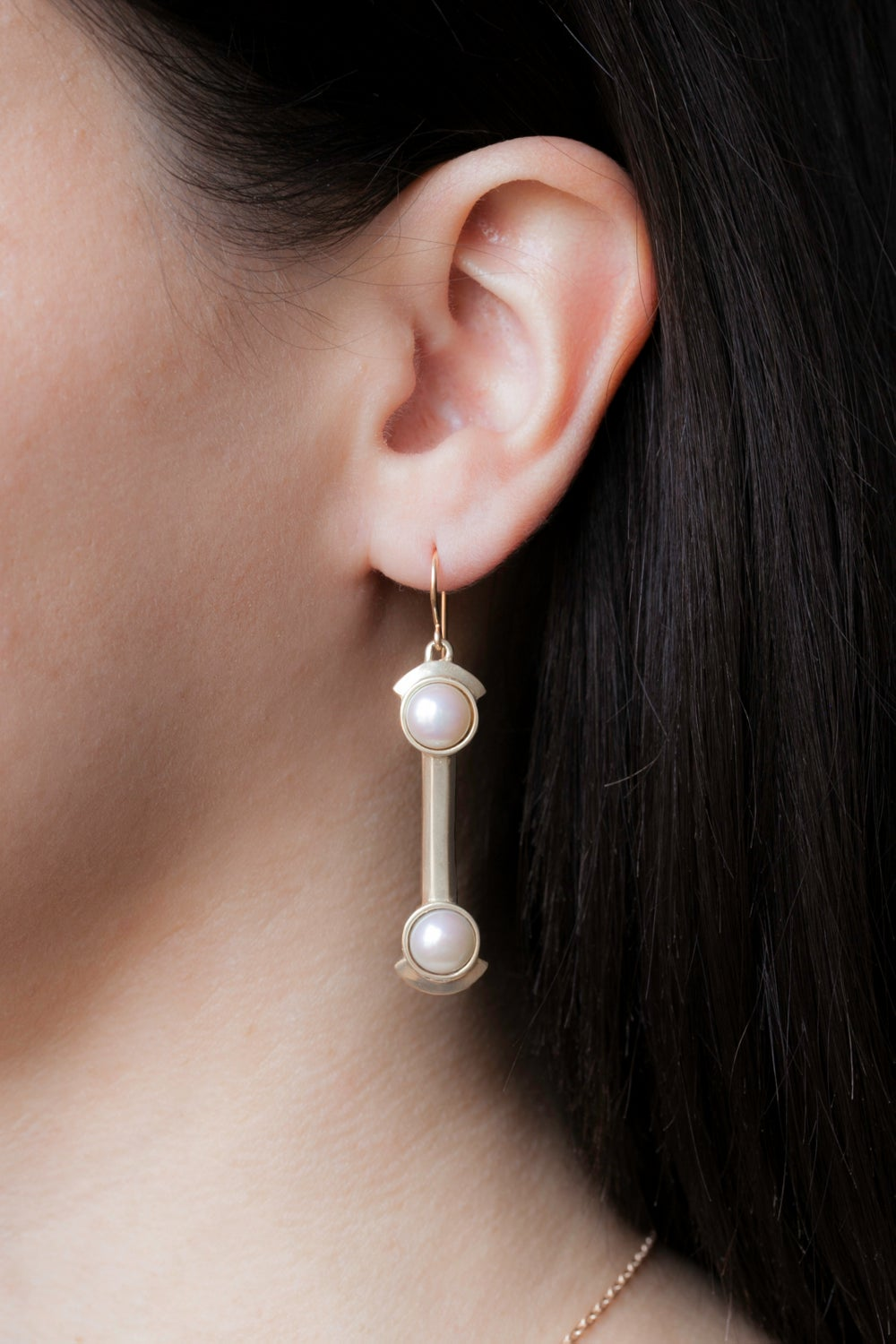 HERA EARRINGS-SILVER