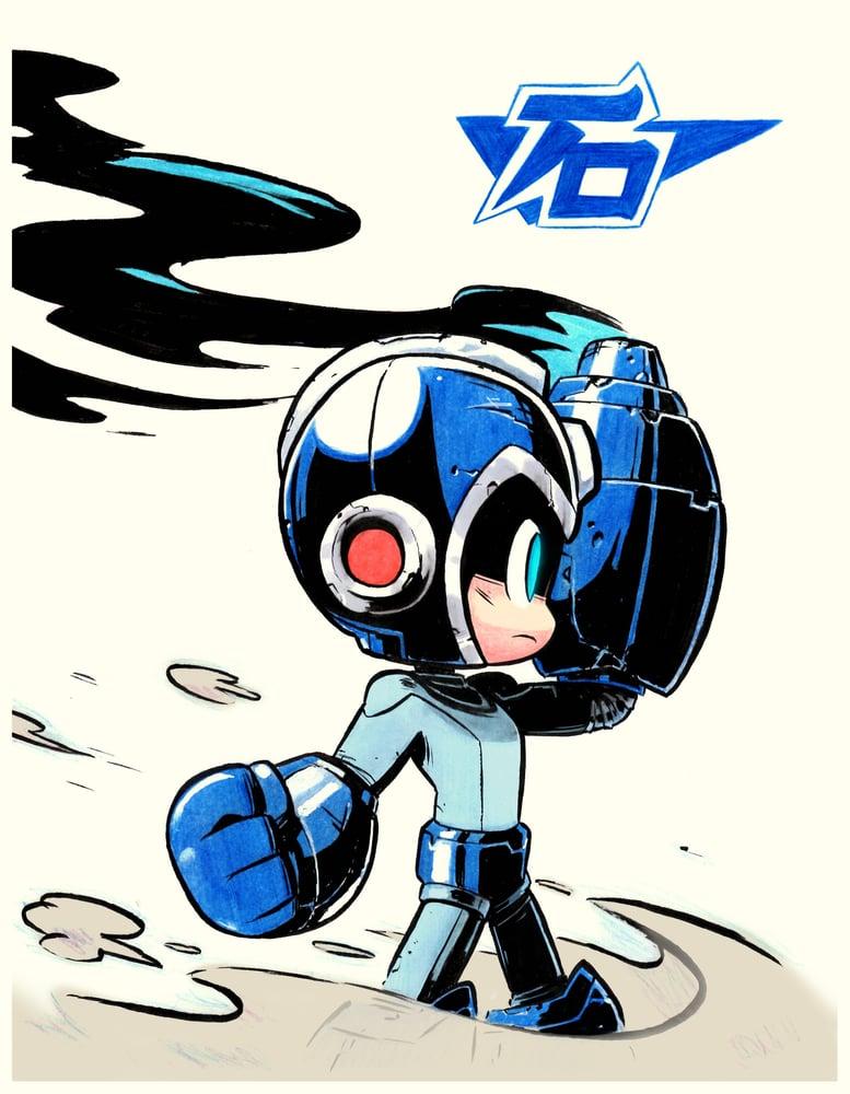 Image of Mega Man Print