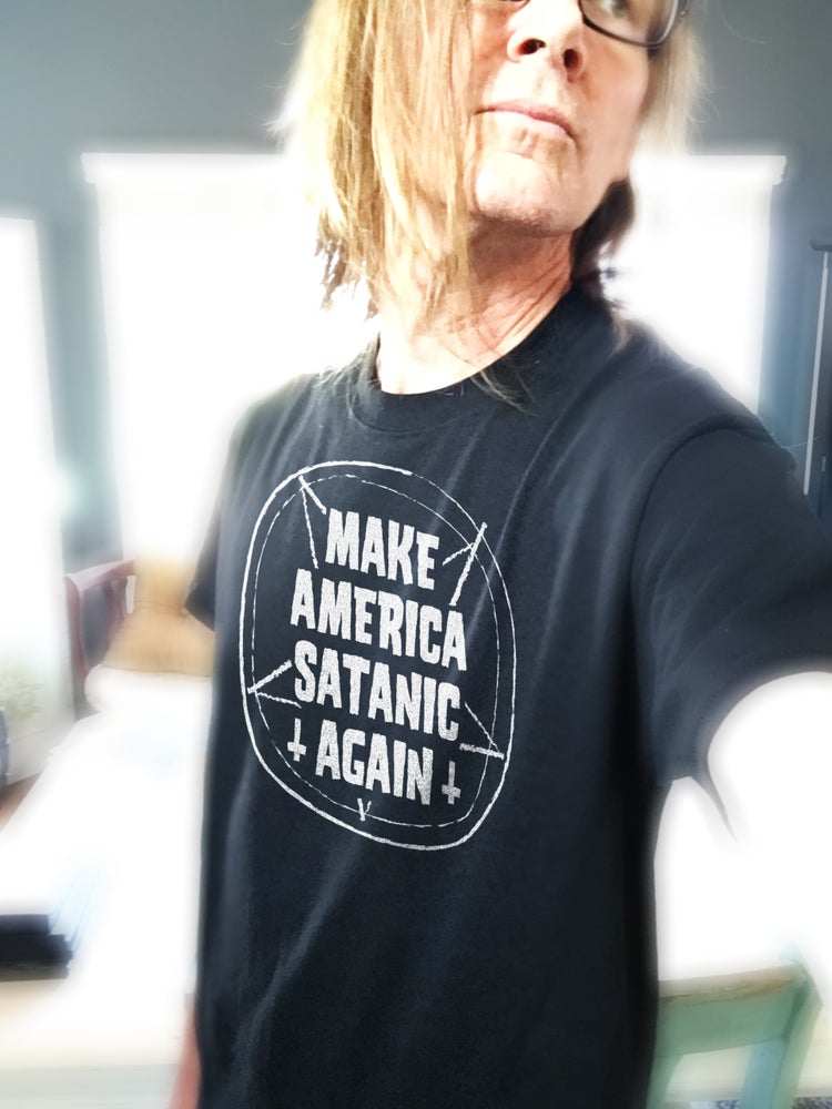"Image of ""Make America Satanic Again"" T-shirt"