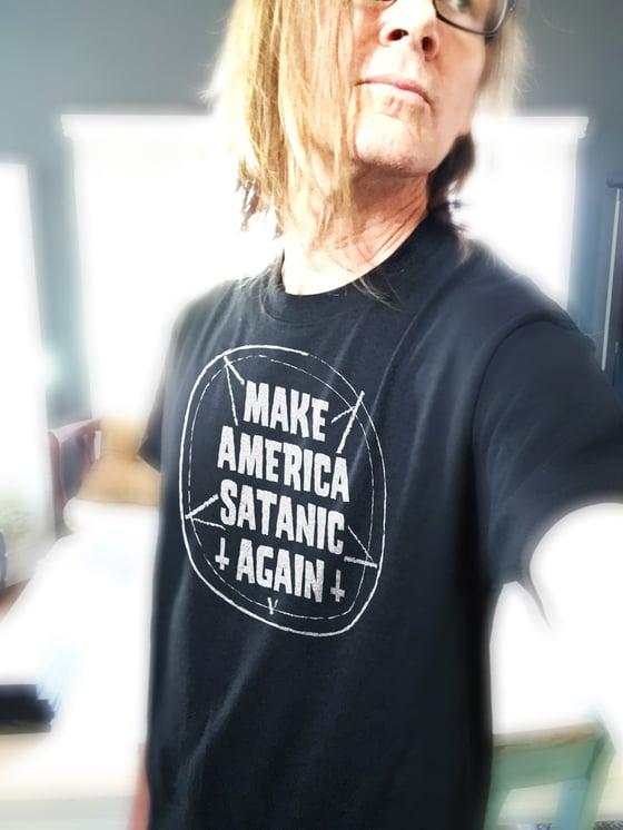 "Image of ""Make America Satanic Again"" T-shirt"