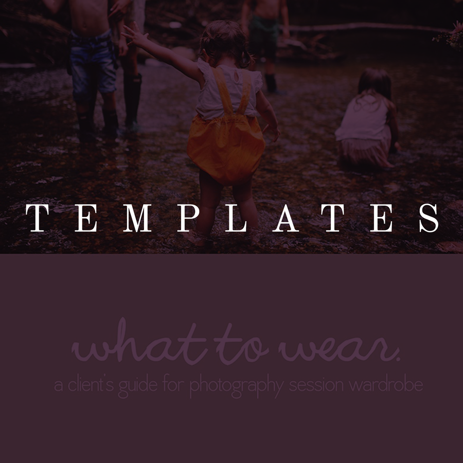 Image of What to Wear PDF Template