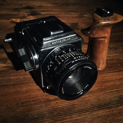 Image of Bespoke Wooden Camera Handles by Allen Henson